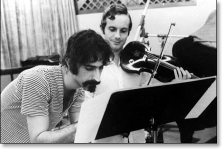 Frank Zappa and Jean-Luc Ponty