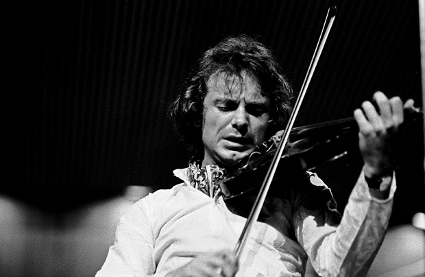Jean-Luc Ponty, performing at the MPS-Jazz festival, 1971