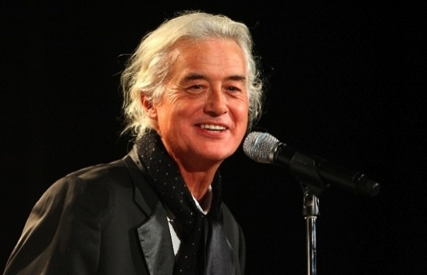 Jimmy Page working on new songs for his solo album