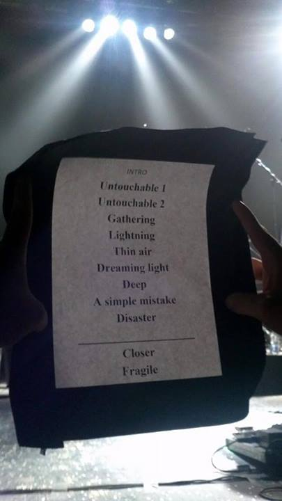Anathema setlist