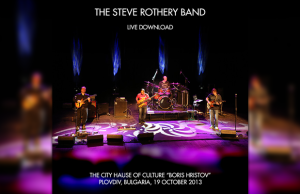 Steve Rothery Band - Live in Plovdiv