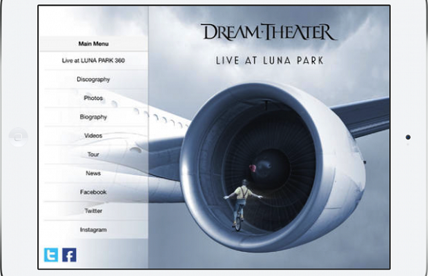 Dream Theater Interactive App
