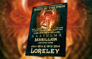 Night of the Prog 2014 poster
