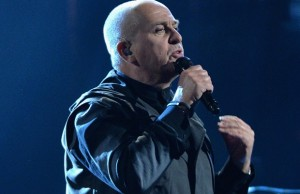 Peter Gabriel has been inducted into the Rock and Roll Hall of Fame