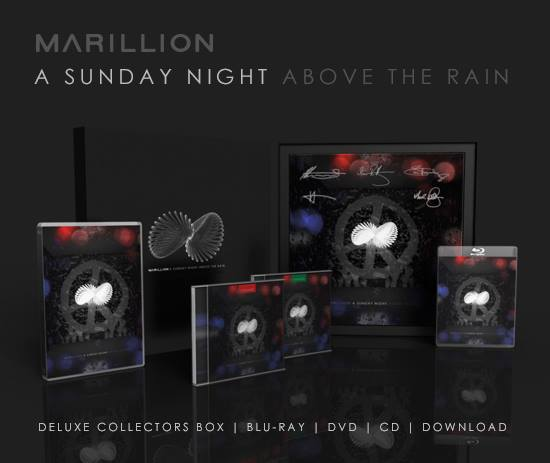 Marillin - A Sunday Night Above the Rain packages