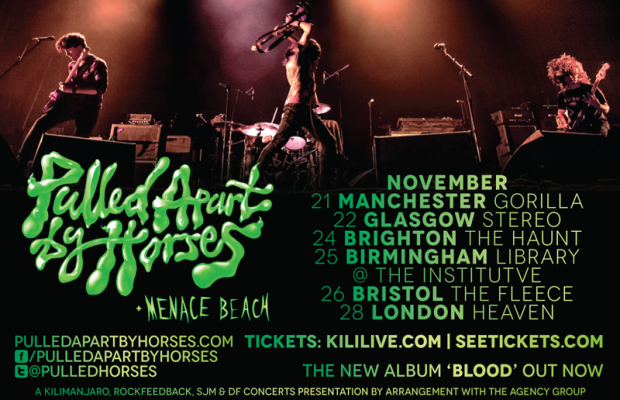 Pulled Apart by Horses tour