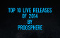 Top 10 Live Releases of 2014 by Prog Sphere