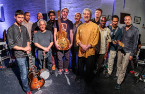 Adam Rudolph and Go-Organic Guitar Orchestra by Scott Friedlander