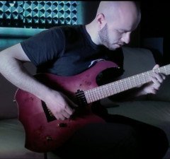 """Guitarist and Composer ANDREAS ŠALA Releases Play-Through Video for New Song """"Hue"""""""