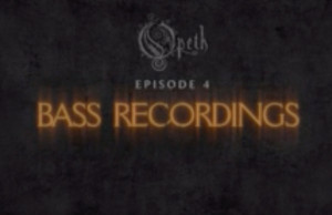 Opeth studio report