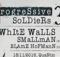 Progressive Soldiers 3 Fest to Take Place on November 18 in Bucharest