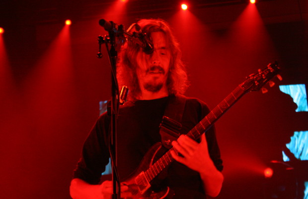 Mikael Akerfeldt of Opeth, live at the Alcatraz in Milan, November 14, 2016