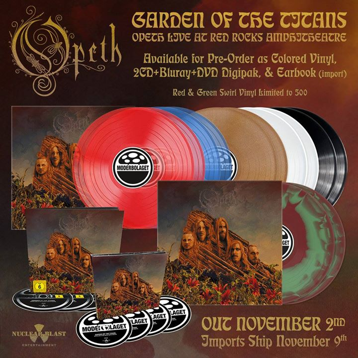 Opeth To Release Quot Garden Of The Titans Live At Red Rocks